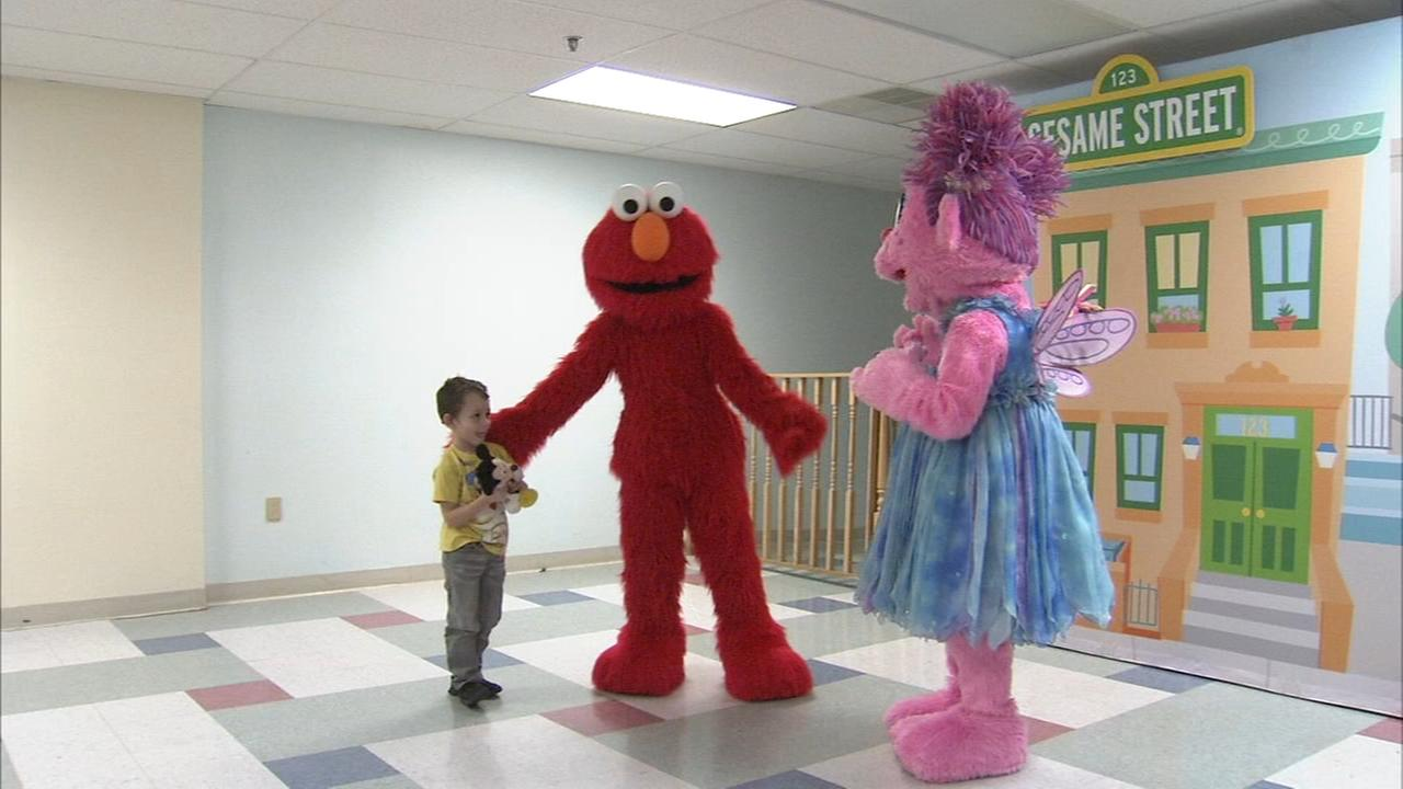 Center City children have a fun day with their Sesame Street friends