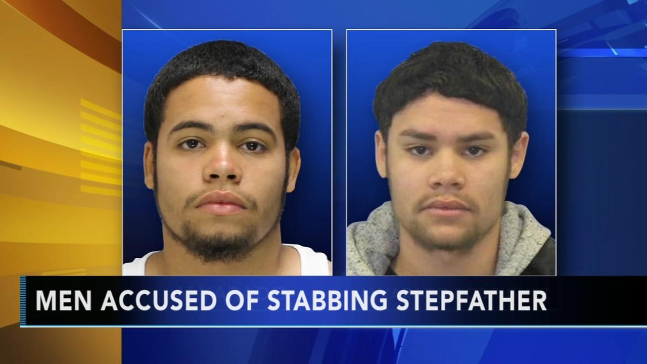Police search for men accused of stabbing stepfather in Bucks County