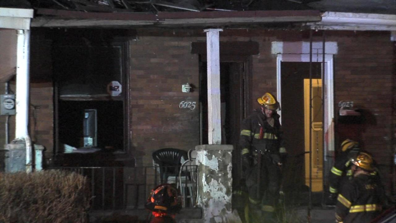 Two escape house fire in Cobbs Creek