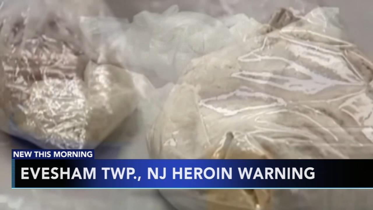 Evesham Township issues heroin warning
