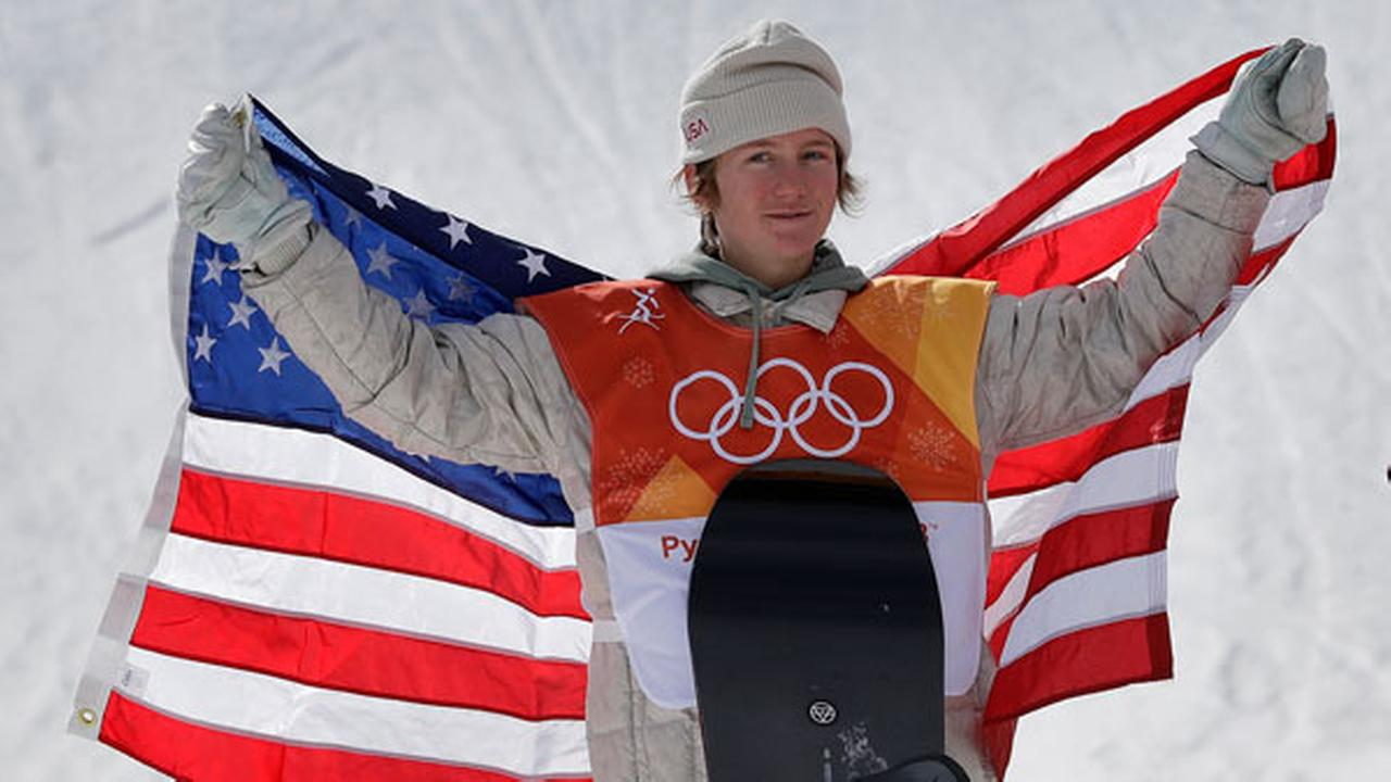 Red Gerard wins slopestyle snowboarding for USA's 1st gold