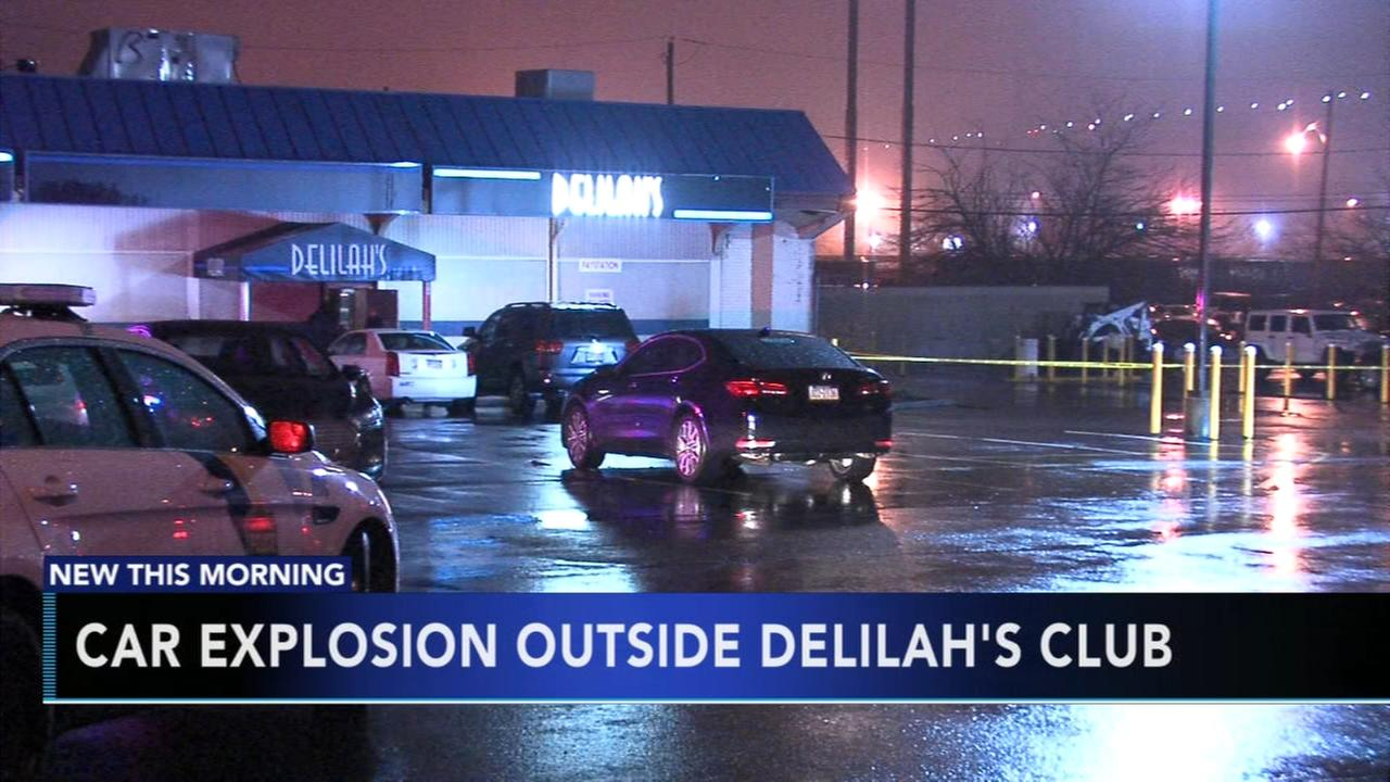 Car explosion outside Delilahs club