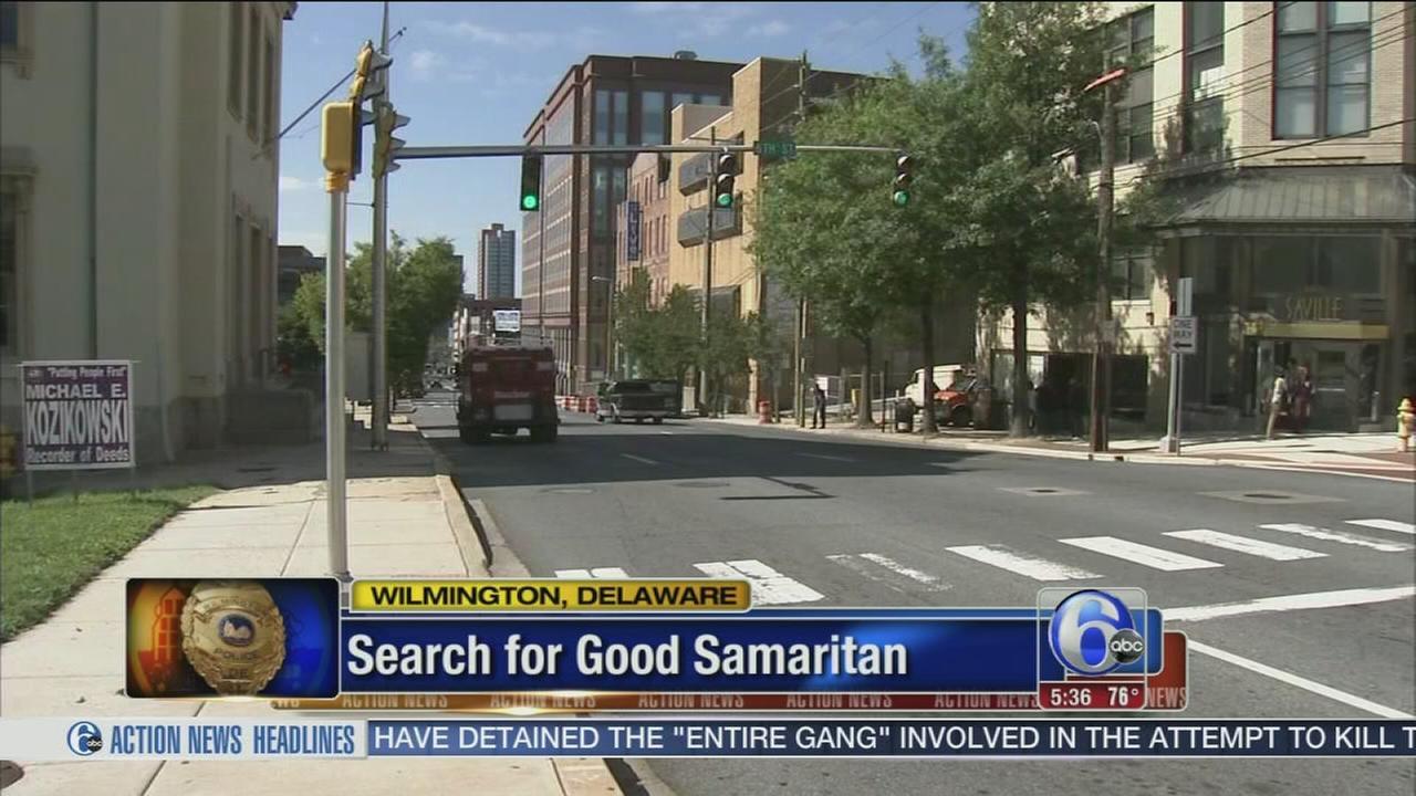 VIDEO: Wilmington man saved by mysterious Good Samaritan