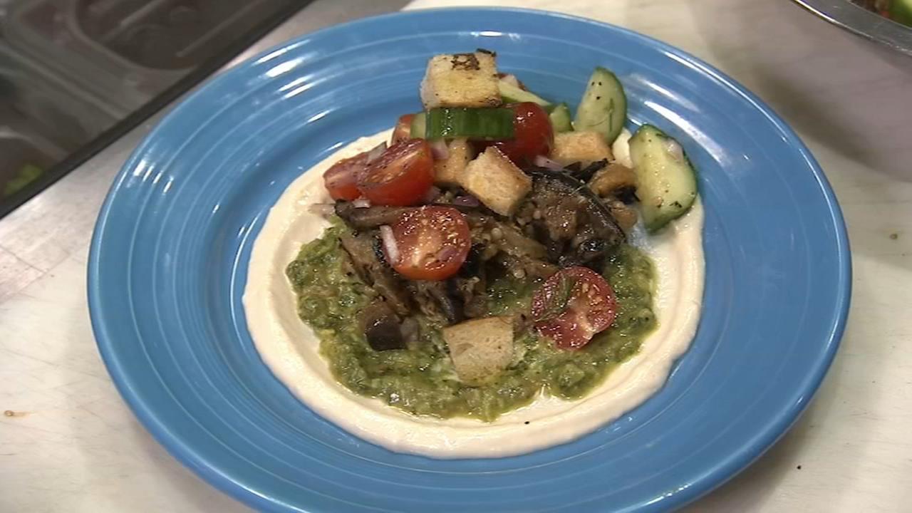 6 minute meal: Israeli Sabich Salad