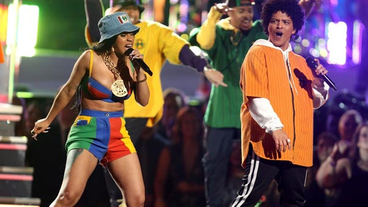 Is Bruno Mars playing Formula 1 this year? It looks likely