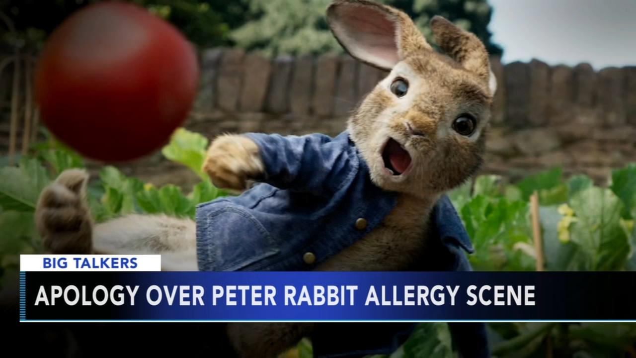Peter Rabbit team apologizes for making light of allergies