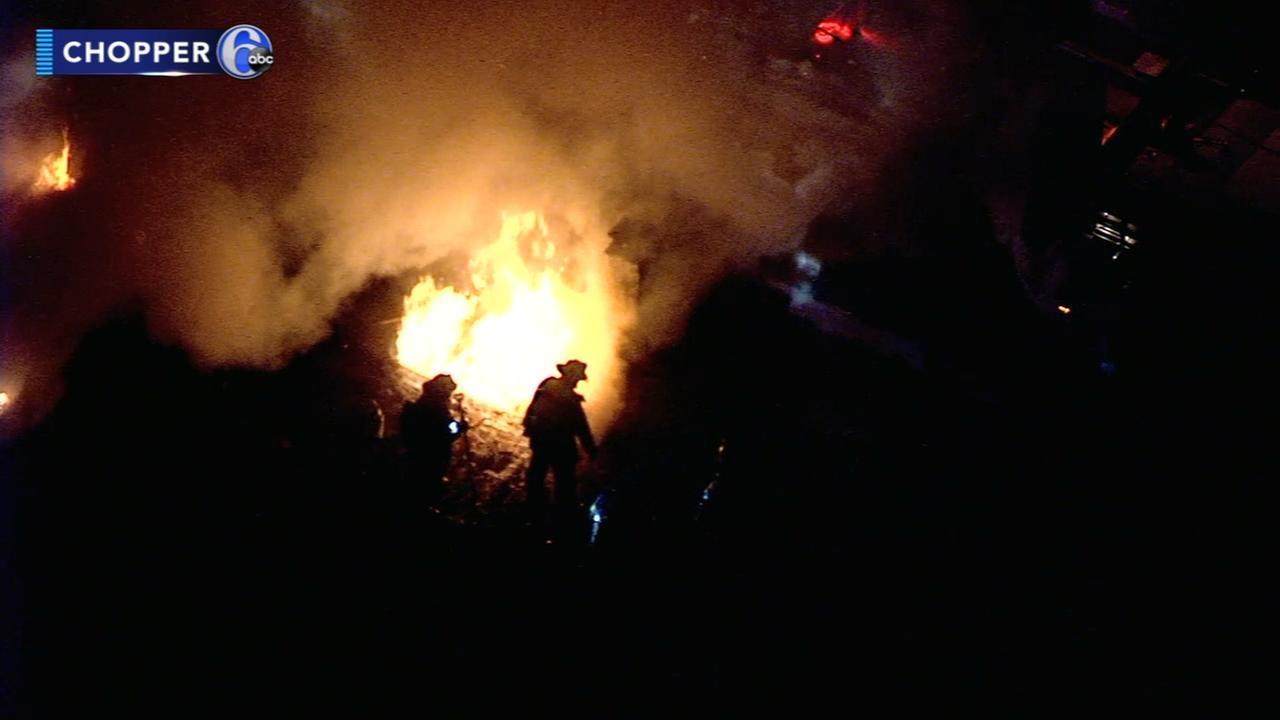 Trenton house fire