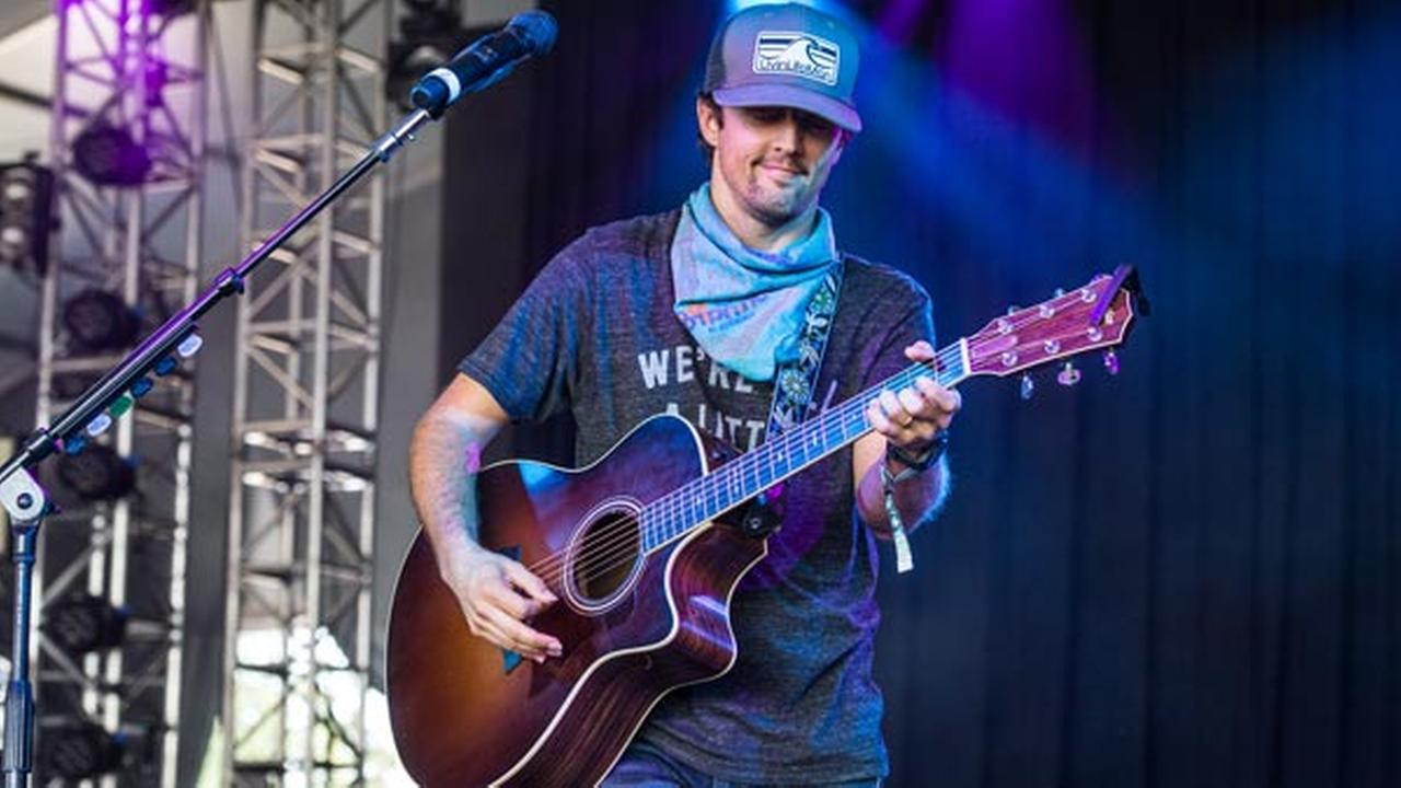 Jason Mraz performs at Bonnaroo Music and Arts Festival on Saturday, June 11, 2016, in Manchester, Tenn.