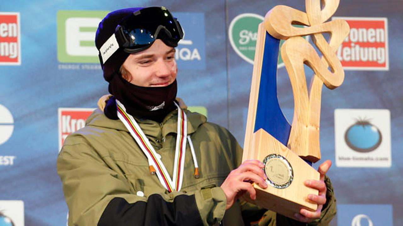 FILE: Switzerlands Fabian Boesch celebrates his gold medal in the mens freestyle skiing slopestyle event at the Freestyle Ski and Snowboard World Championships in Austria in 2015