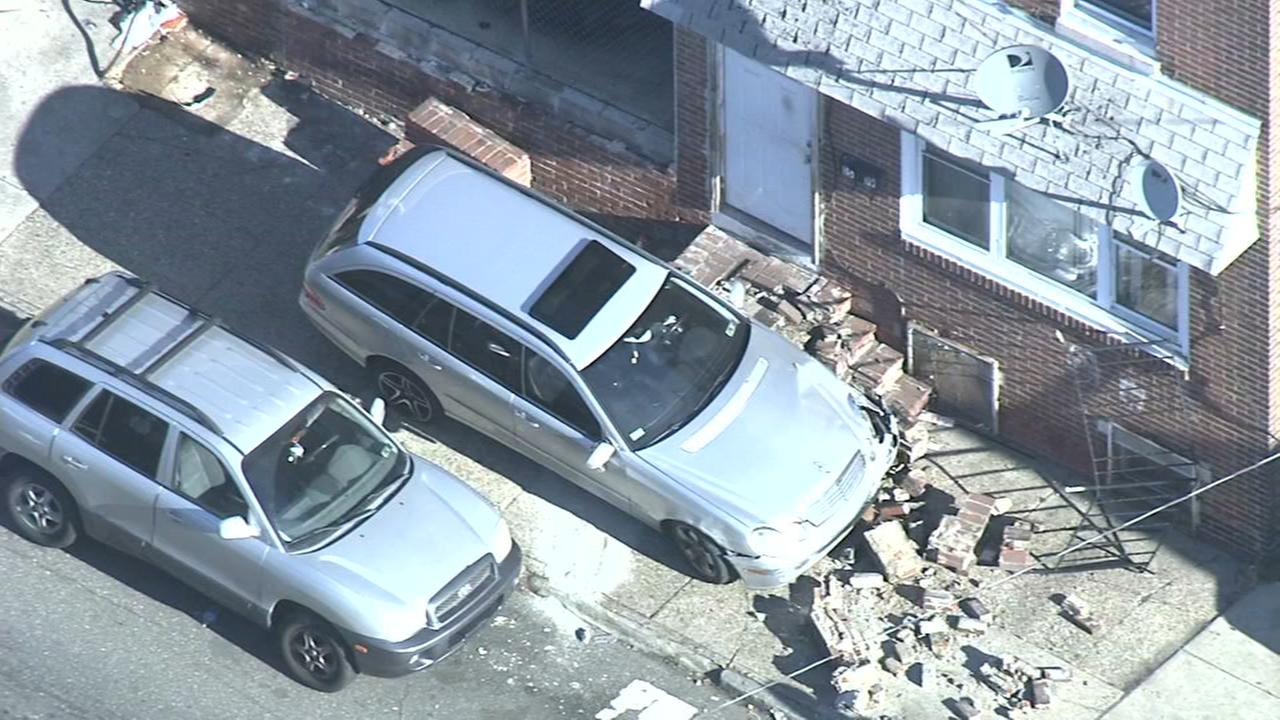 RAW VIDEO: Vehicle hits building