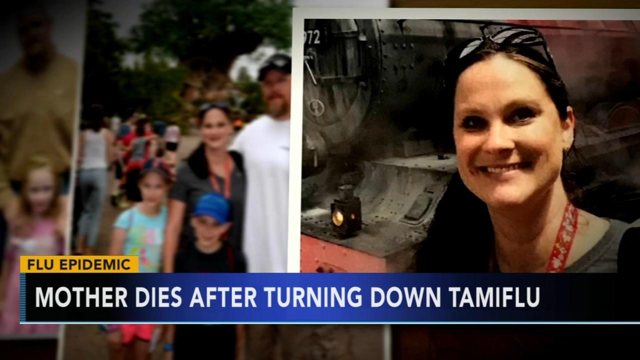 VIDEO: Mom dies from flu complication after turning down Tamiflu