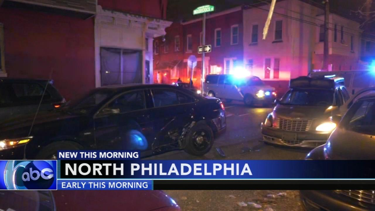 Sheriff deputy involved in North Philadelphia crash