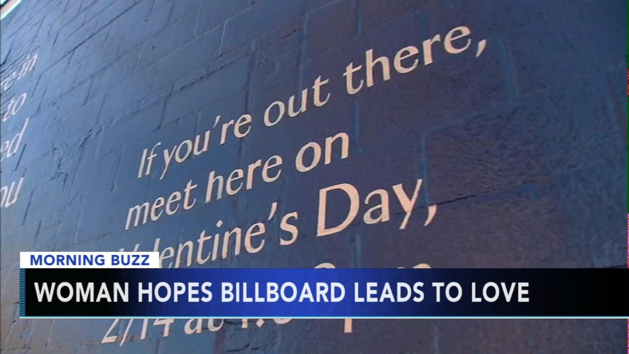 Woman hopes billboard leads to love