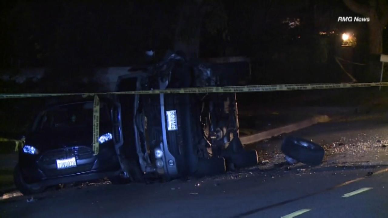 Pacific Palisades Car Crash
