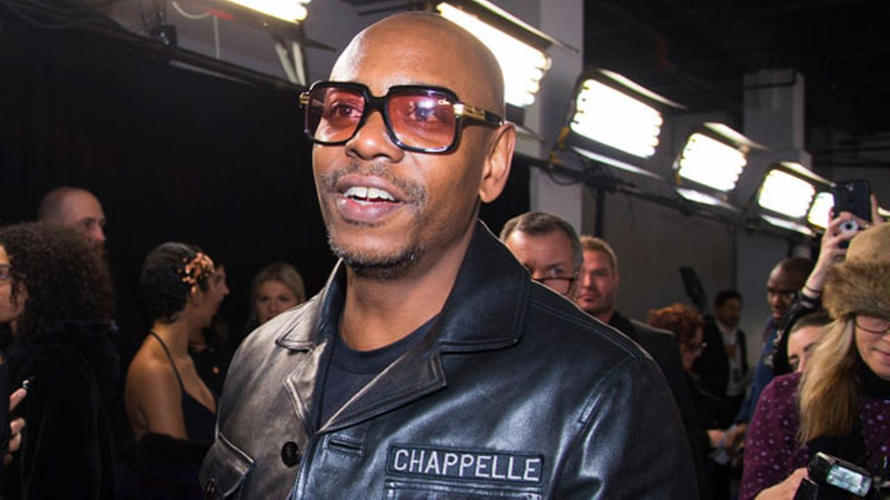 Dave Chappelle attends the Universal Music Groups Grammy after party at Spring Studios on Sunday, Jan. 28, 2018, in New York.