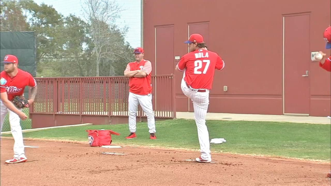 Pitchers and catchers report in Clearwater