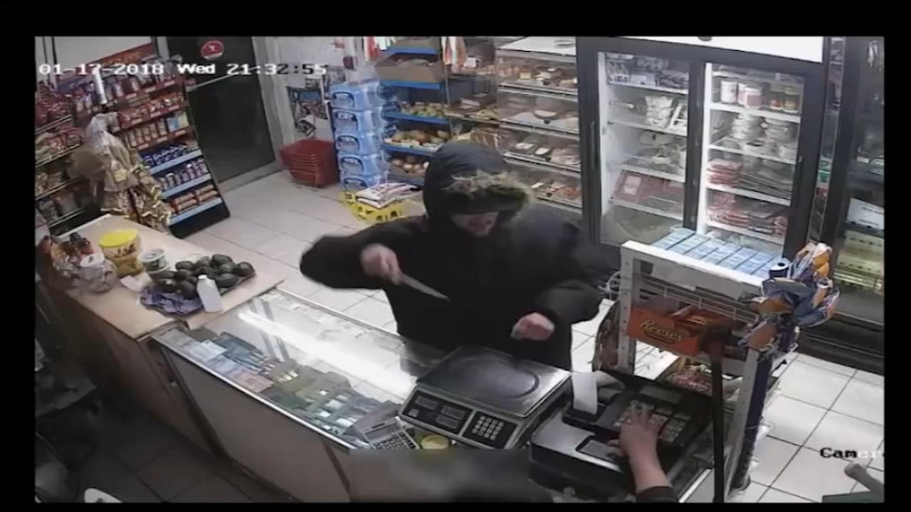 Suspect sought for armed robbery of NE Philly store