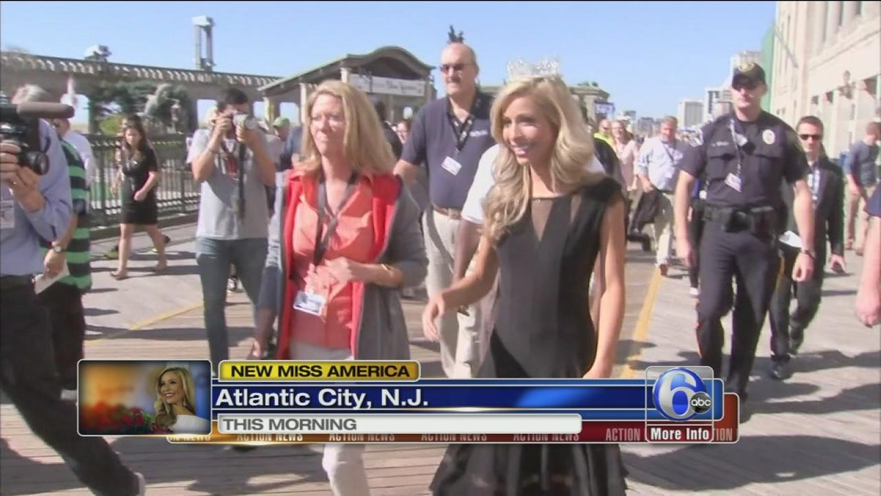 VIDEO: Miss America 2015 begins her reign