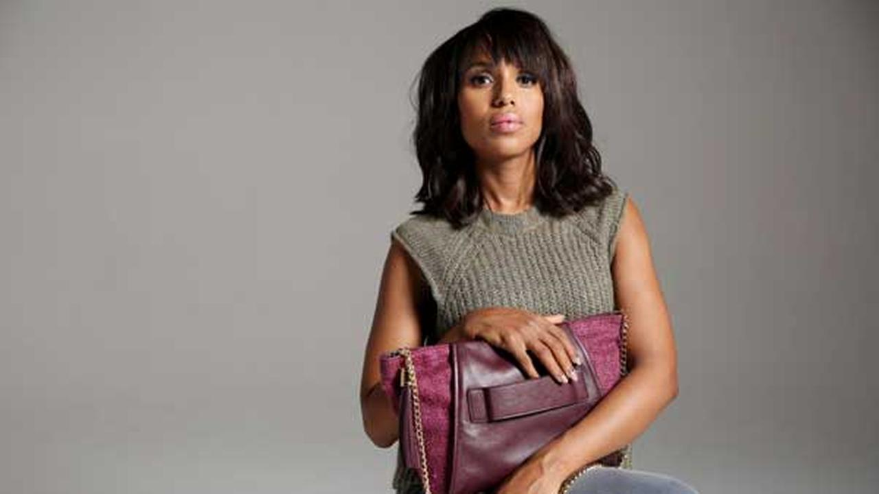 In this Sunday, Sept. 7, 2014 photo, actress Kerry Washington poses for a portrait in Los Angeles.