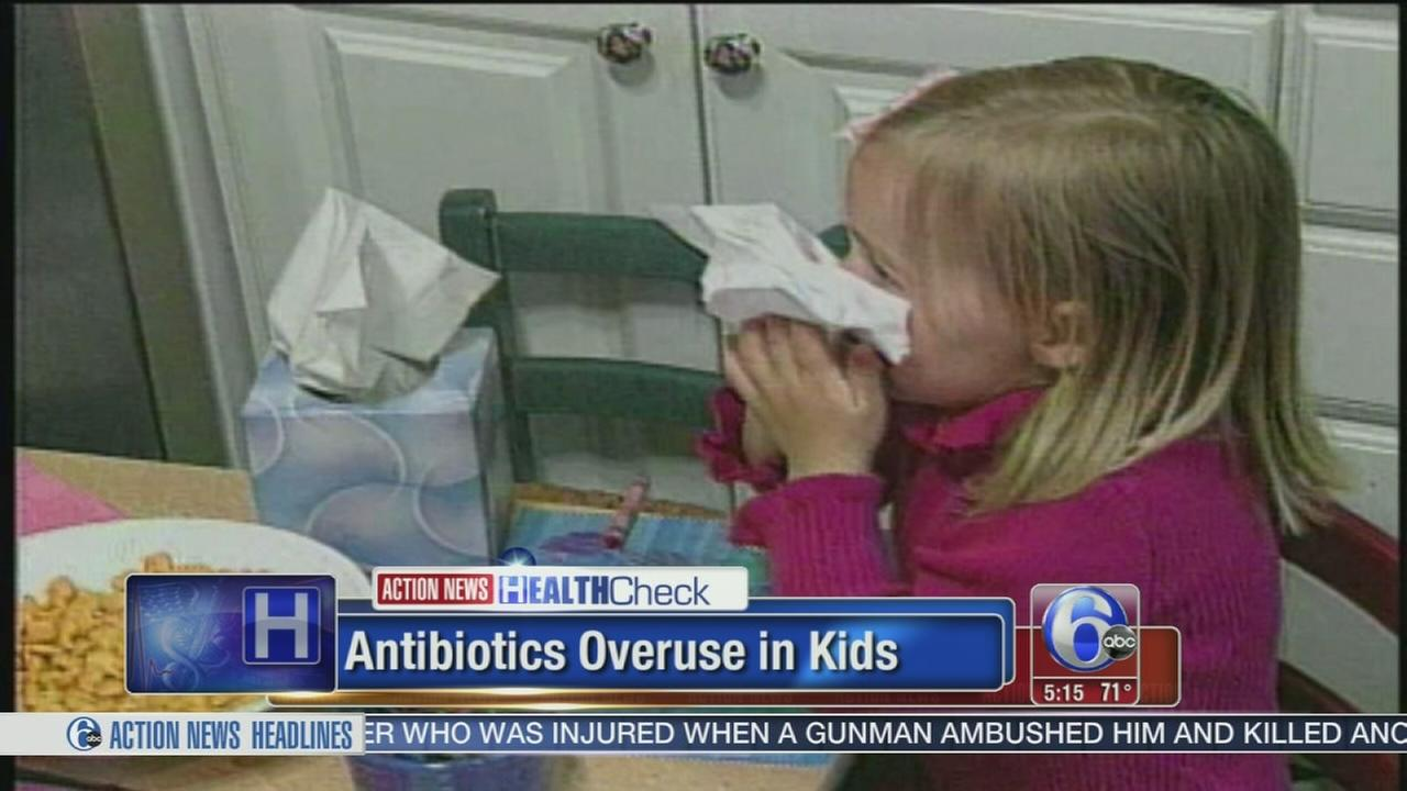 VIDEO: Antibiotics overuse in kids