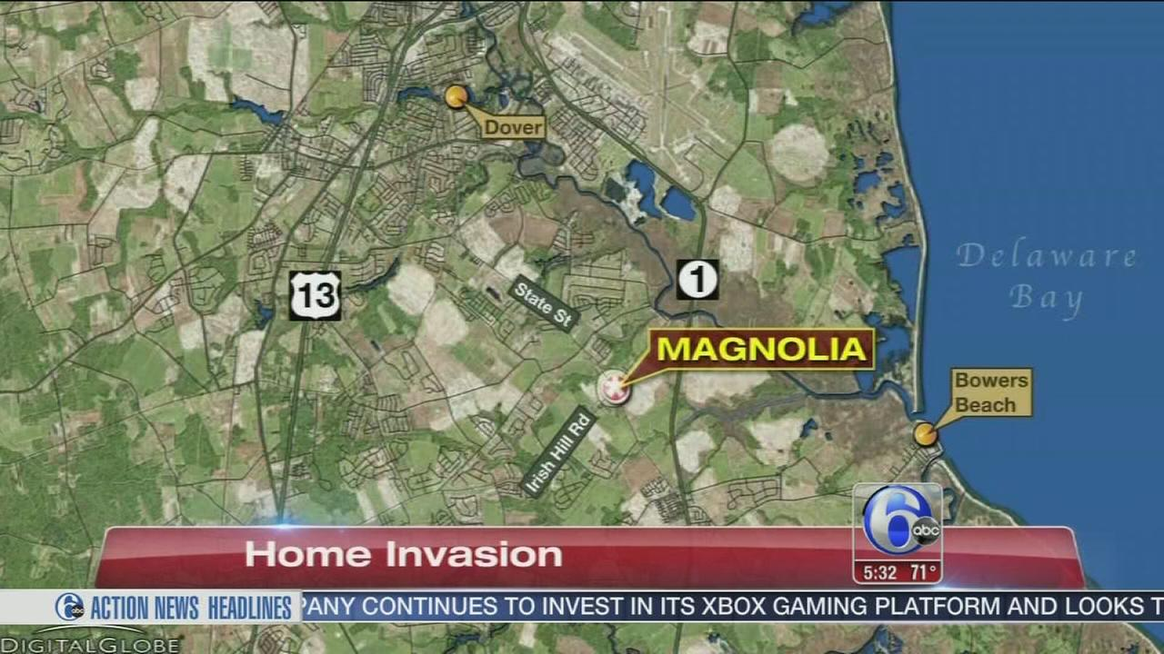 VIDEO: WOman choked in Del. home invasion