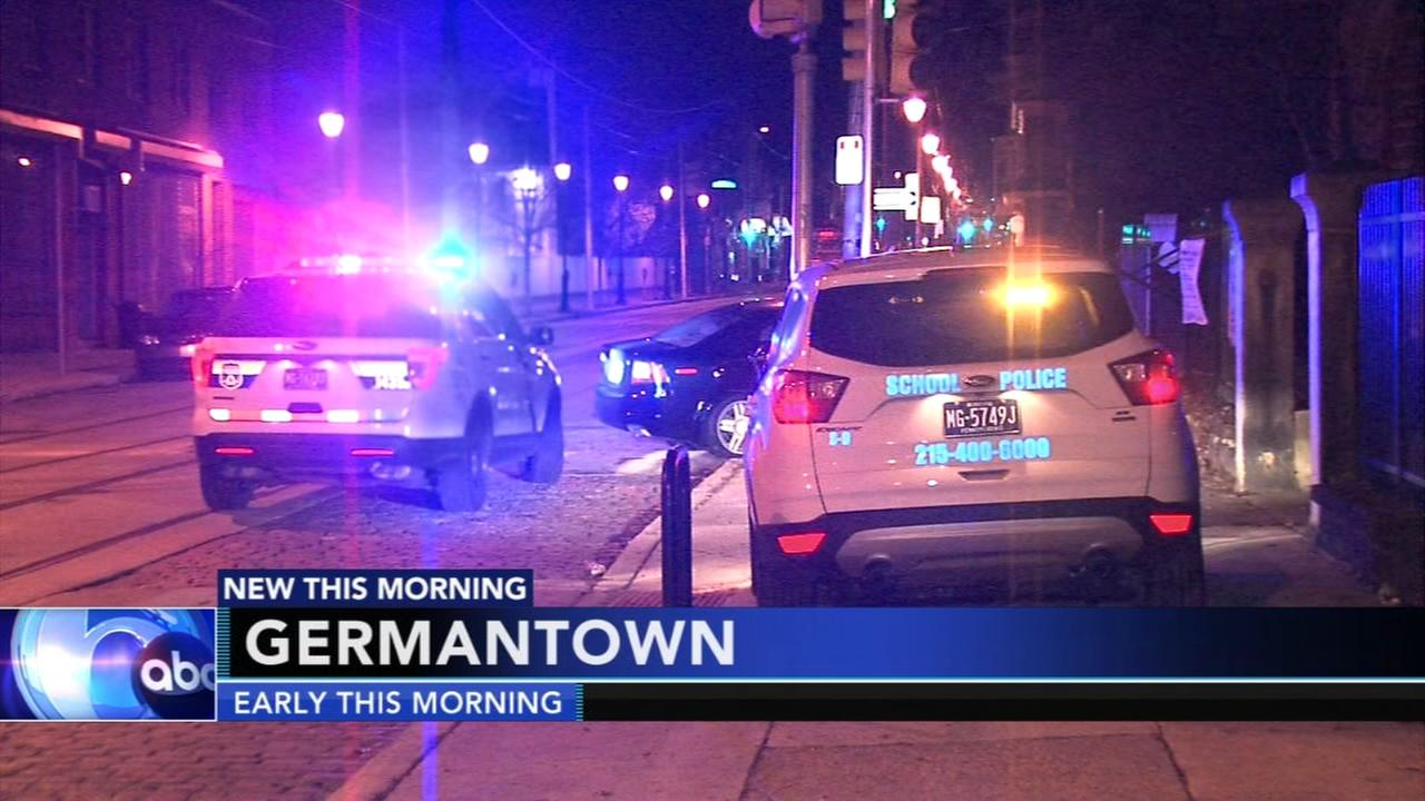 Driver injured after hitting utility pole in Germantown