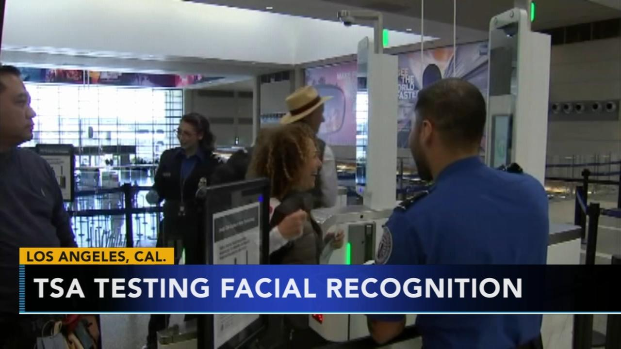 TSA testing out facial recognition security system