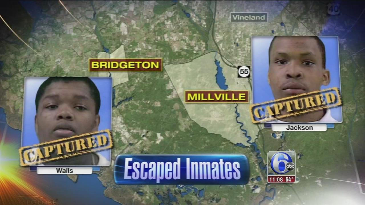 VIDEO: Escaped inmates captured