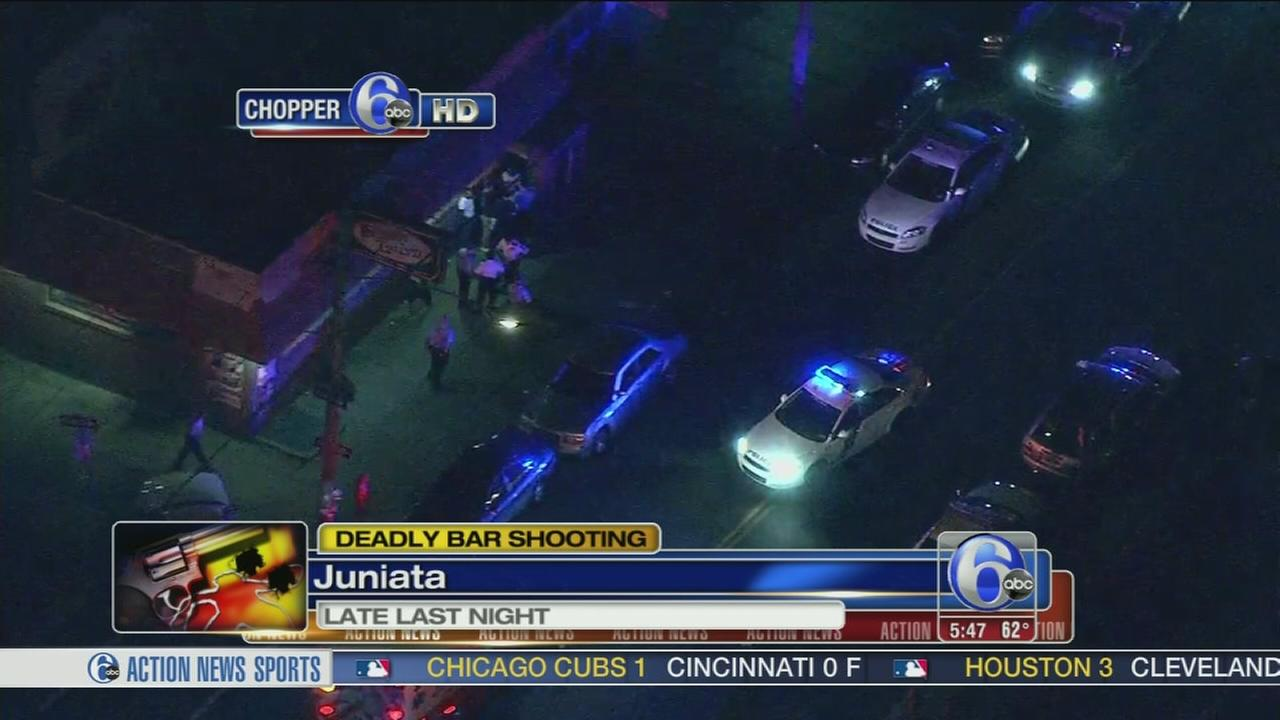 VIDEO: Man gunned down playing pool in Juniata bar