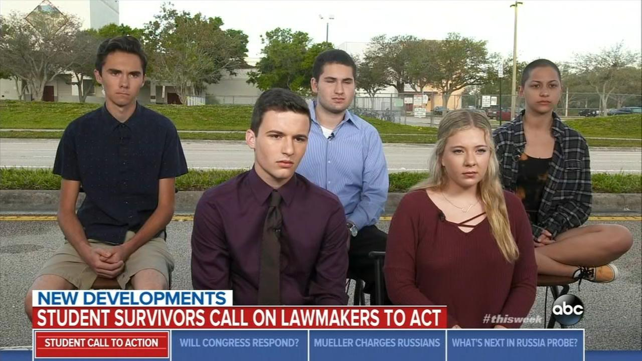 Florida shooting survivors announce March for Our Lives