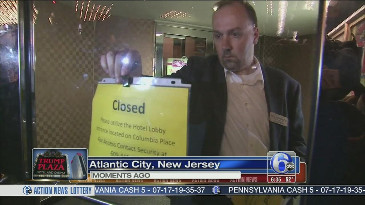 VIDEO: Trump Plaza closes for good