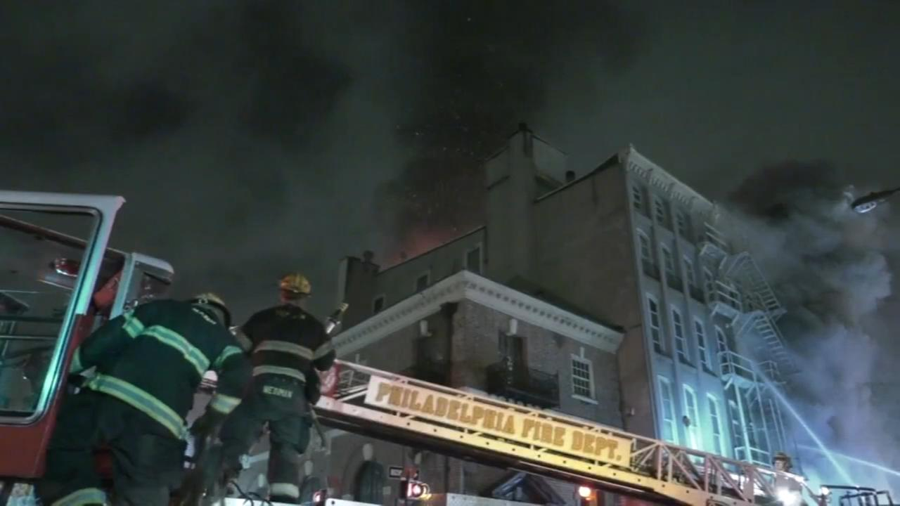 4-alarm fire breaks out in Old City