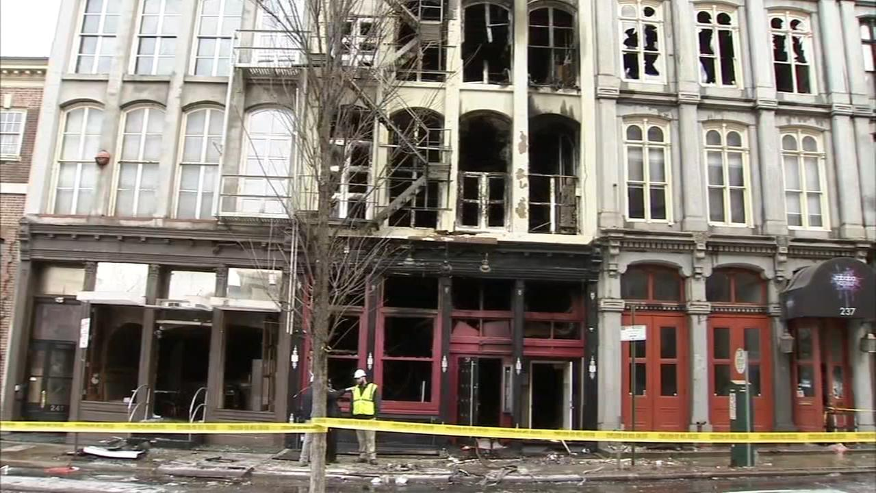Building concerns after 4-alarm Old City fire