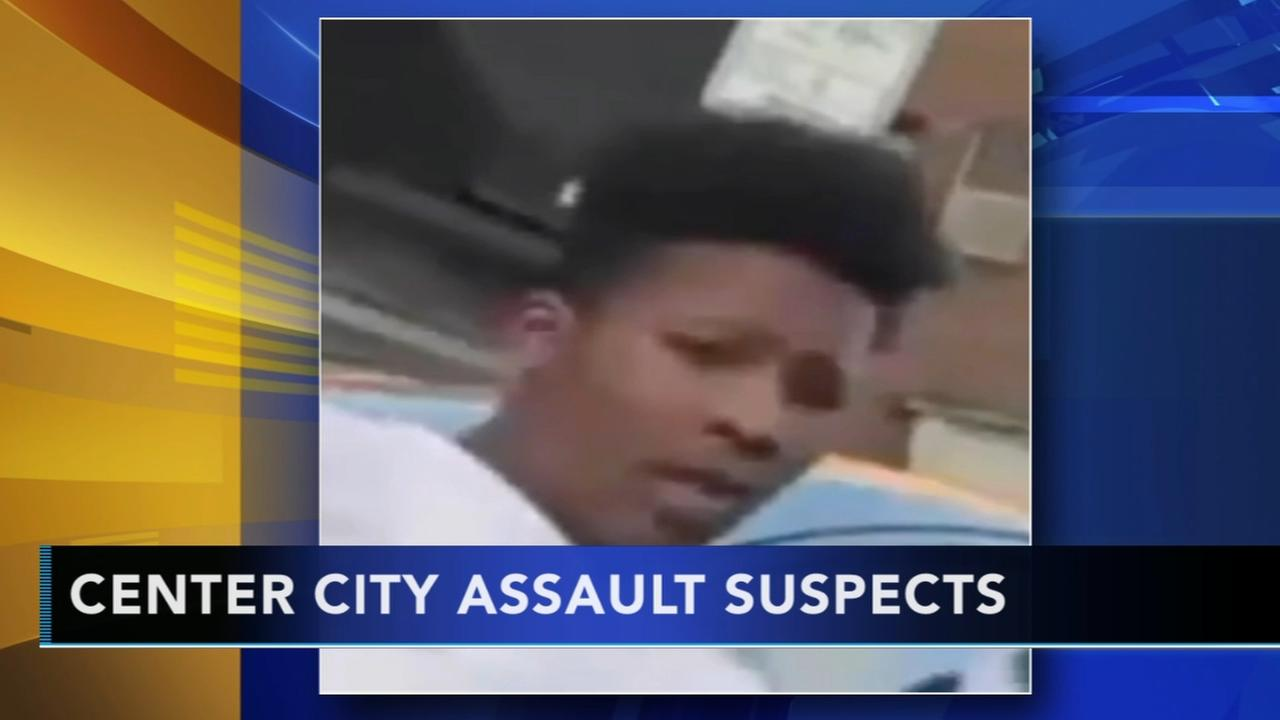 Search for Center City assault suspects