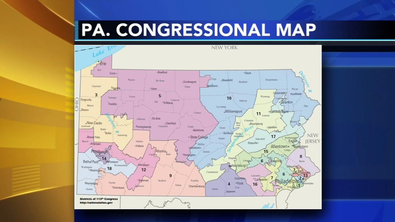 Pa. awaits first look at courts congressional map