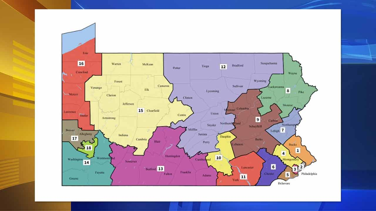 Pennsylvania Supreme Court unveils new congressional map