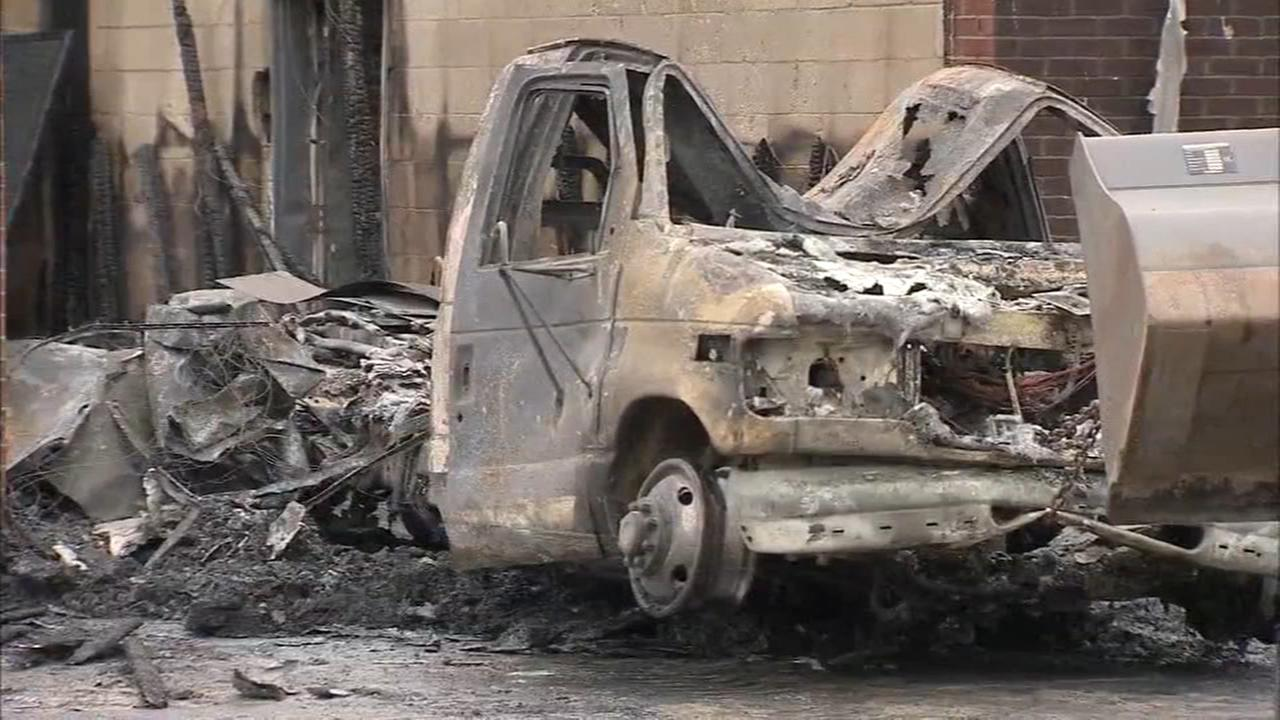 VIDEO: Fire destroys Salem County ambulance company