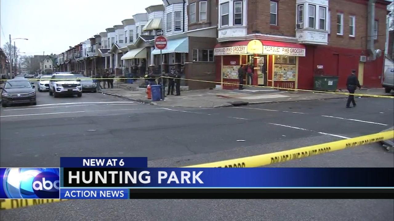 Man shot in Hunting Park