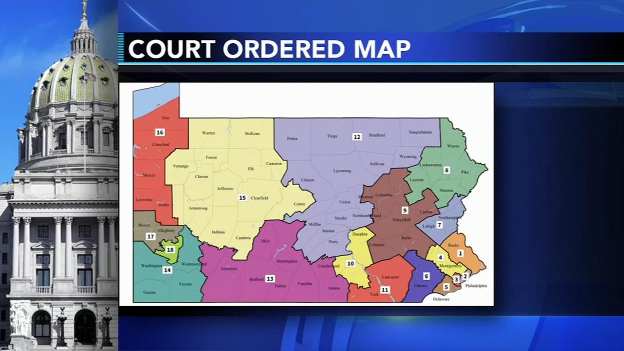 PA court redraws congressional map