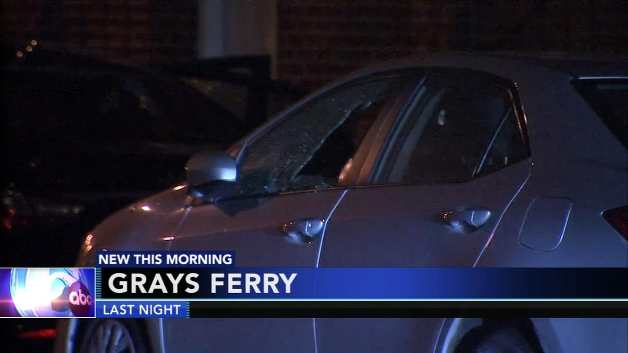 Woman caught in crossfire in Grays Ferry