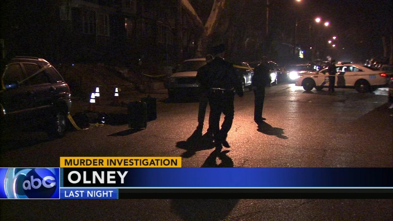 Deadly shooting in Olney