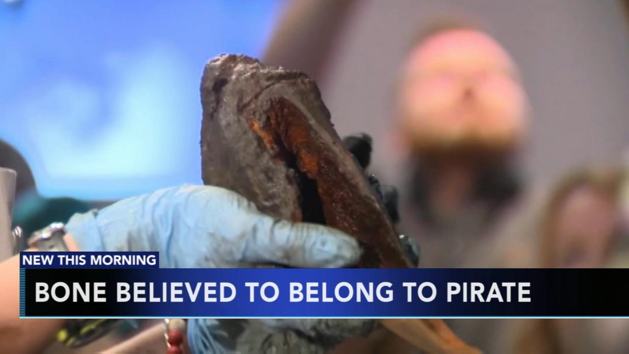 Bone believed to belong to pirate