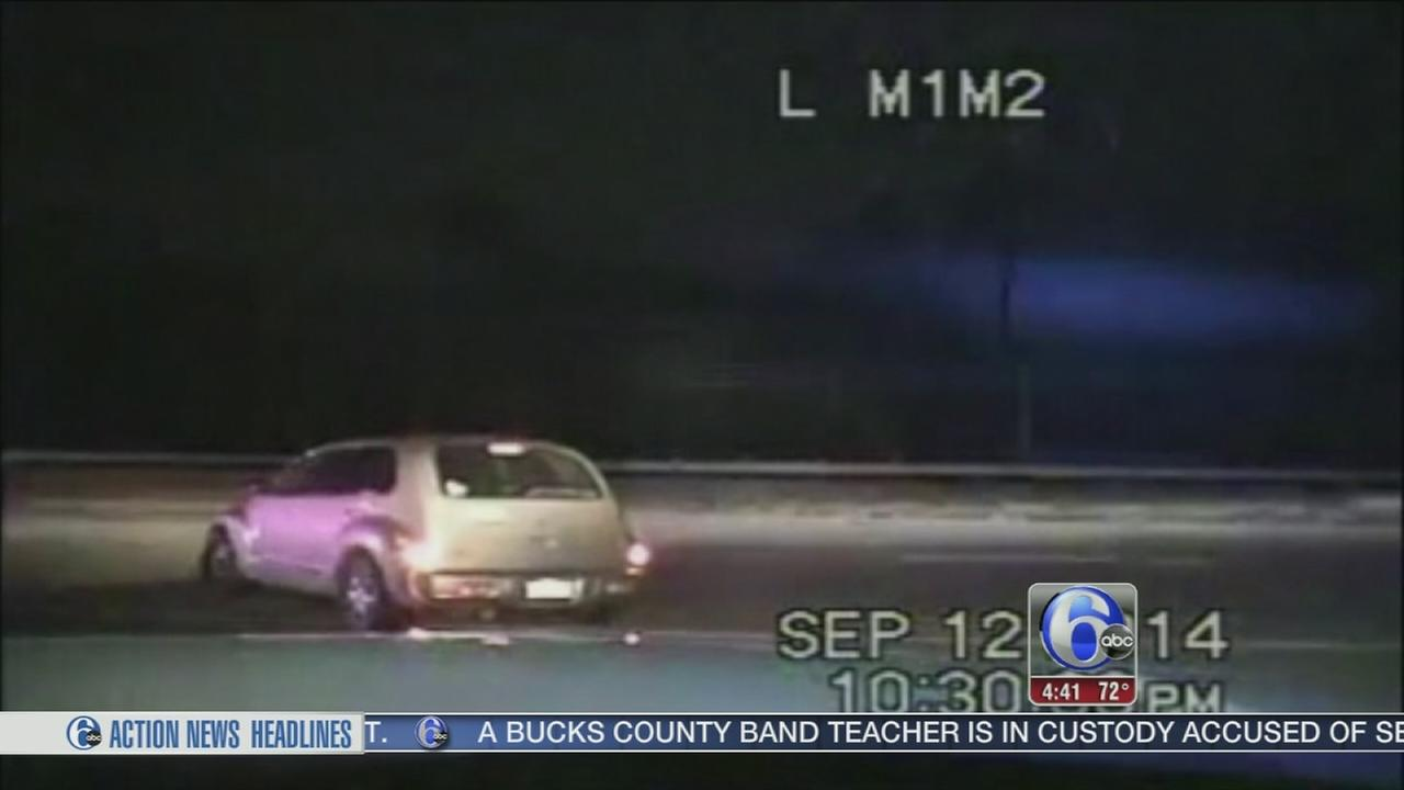 VIDEO: Cop risks life to stop drunk wrong-way driver