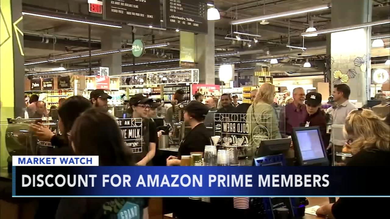 Whole Foods discount for Amazon Prime members