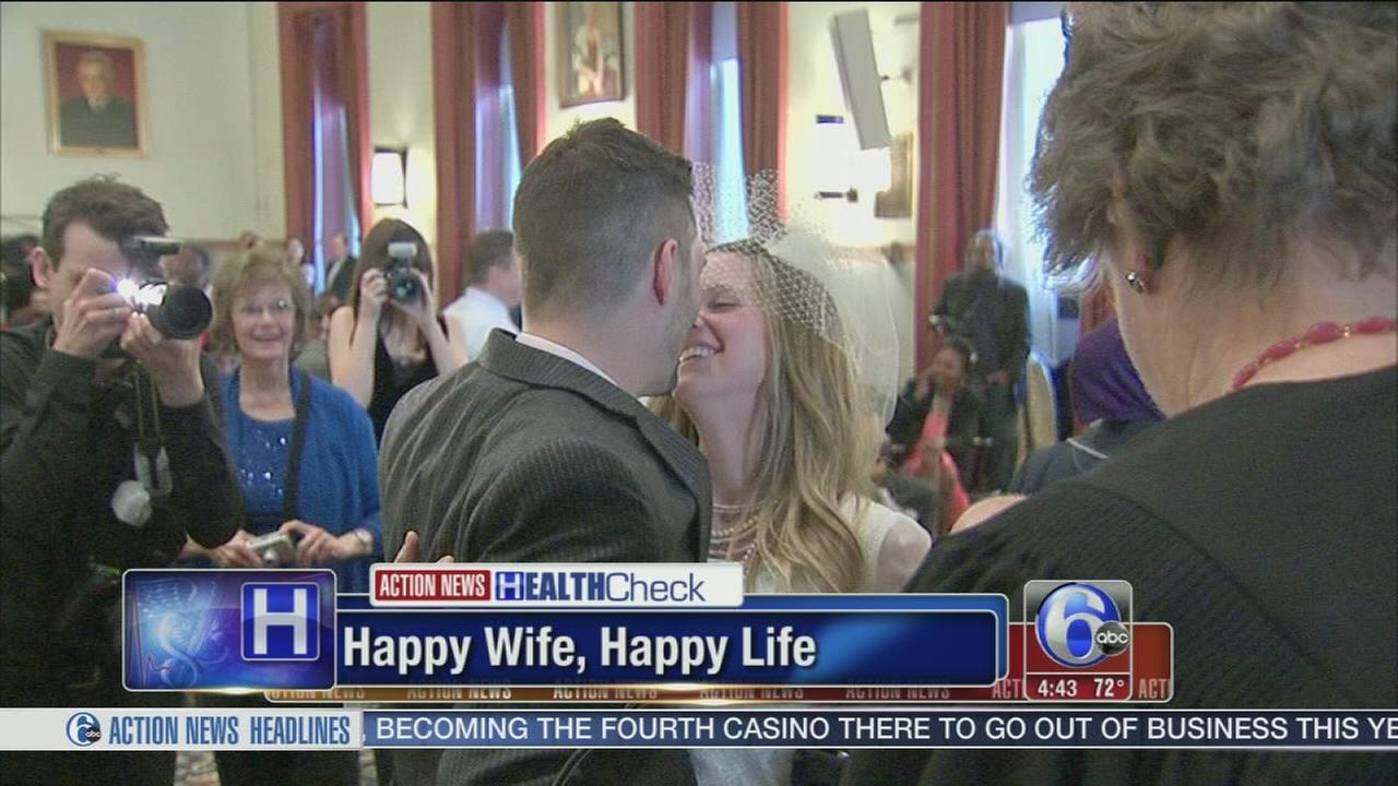 VIDEO: Happy wife, happy life confirmed in study