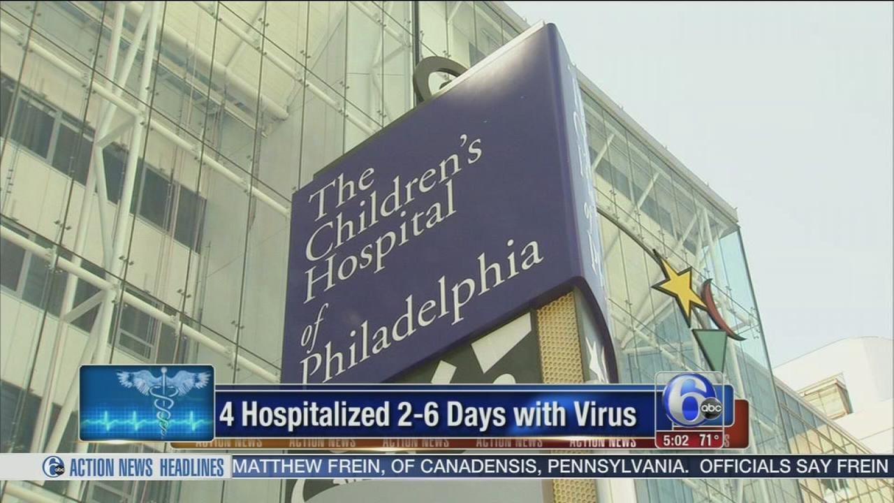 VIDEO: CHOP says 4 patients tested positive for Enterovirus D68