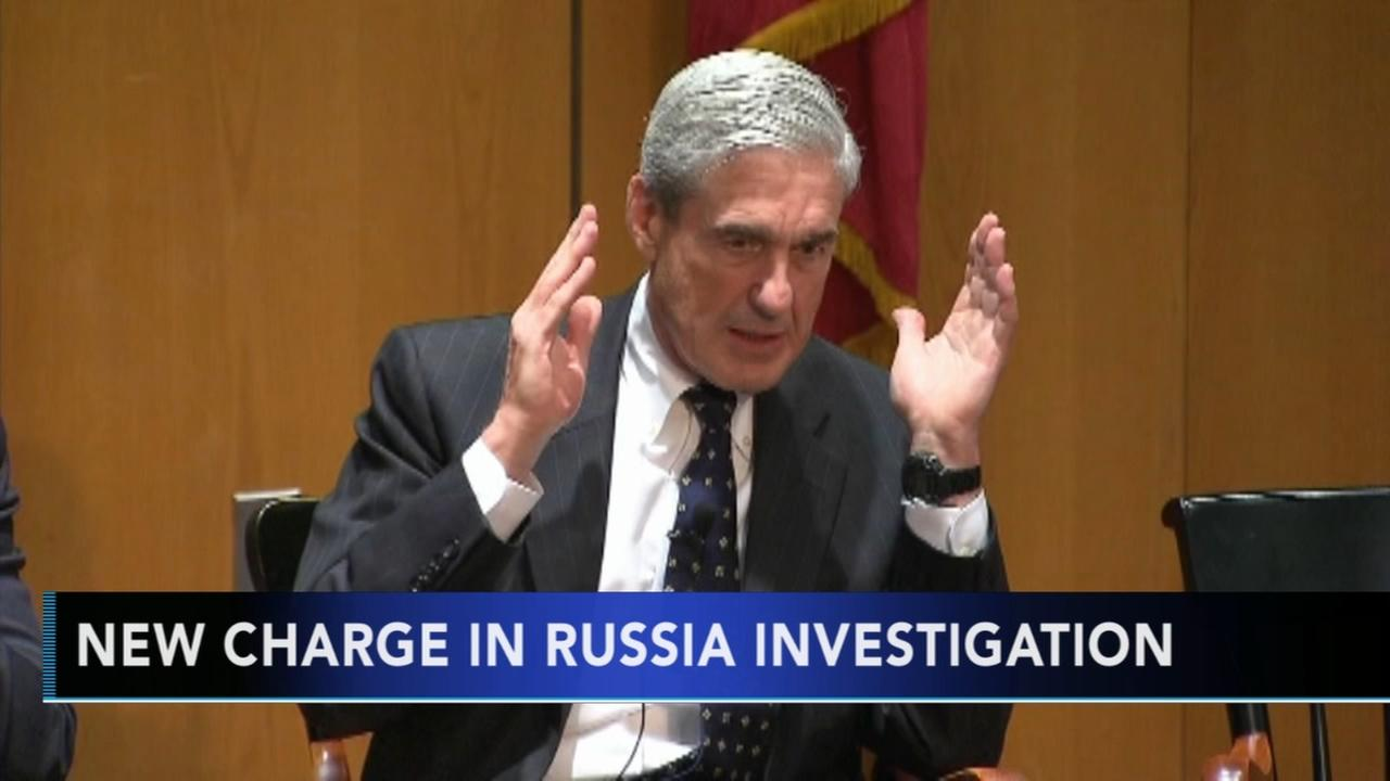 New charge in Russia investigation