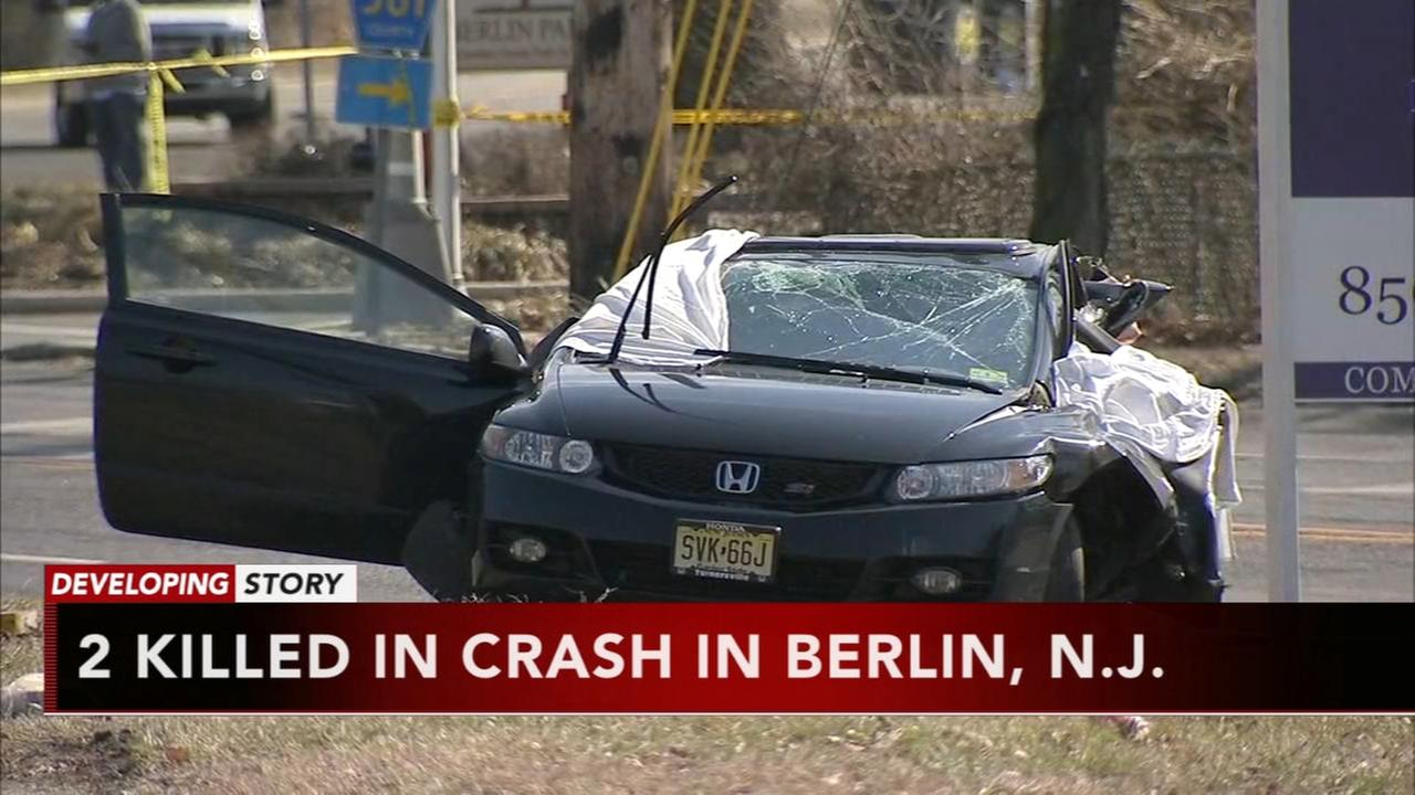 2 killed in crash in Berlin, N.J.