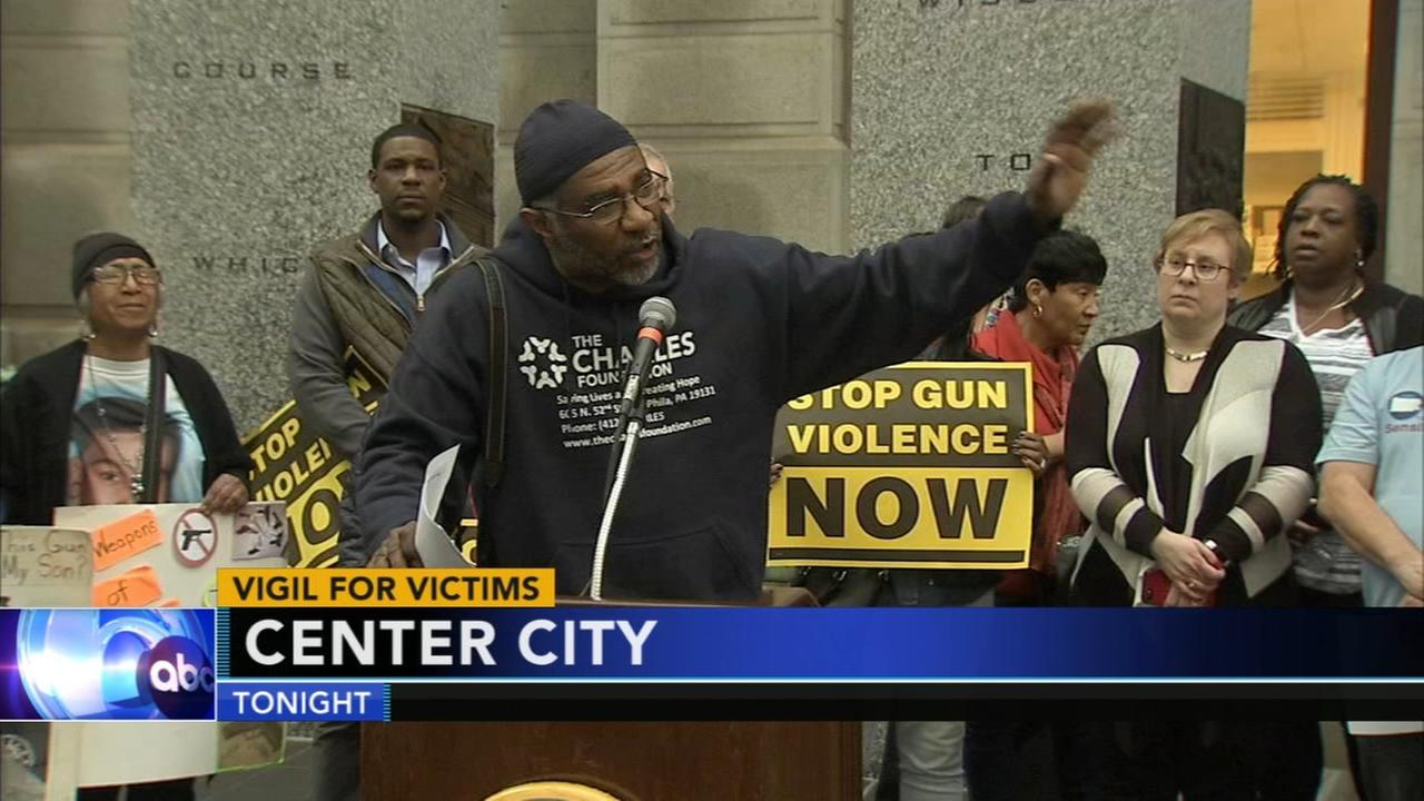 Anti gun violence rally at City Hall honors Parkland victims