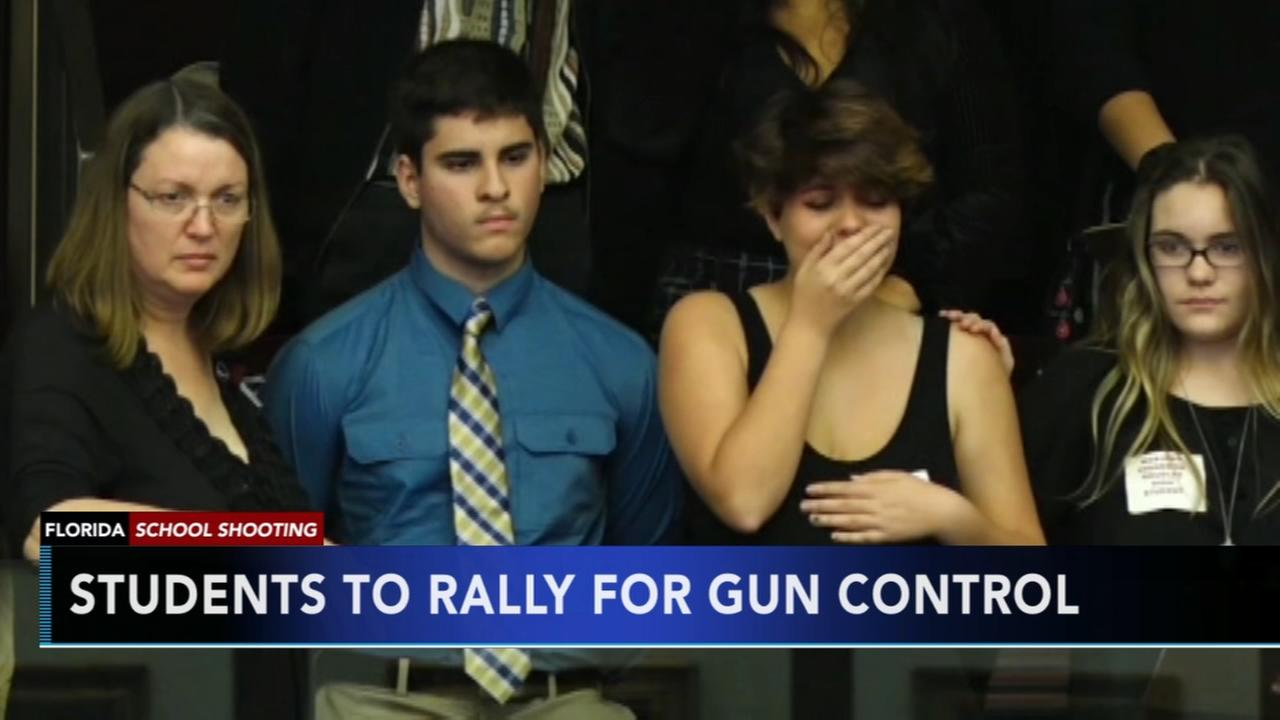Shooting survivors in Fla. capital to demand change